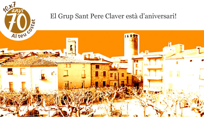 70 Aniversari Sant Pere Claver - Sortida a Verdú