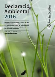 Declaració ambiental 2016