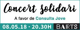 Concert Solidari a favor de Consulta JOves