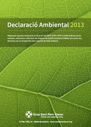 Declaració ambiental 2013