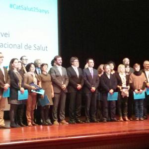 Foto familia premiats CatSalut