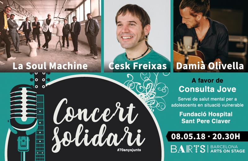 Concert solidari Consulta Jove